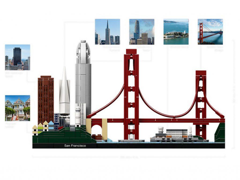 21043 San Francisco Lego Architecture construccion completa