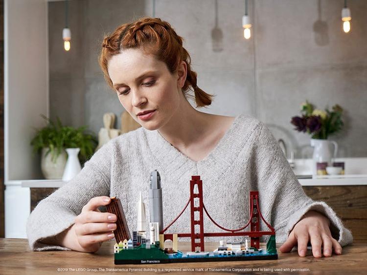 21043 San Francisco Lego Architecture set completo