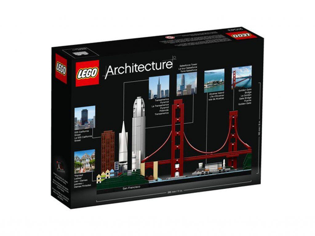 21043 San Francisco Lego Architecture un boxing
