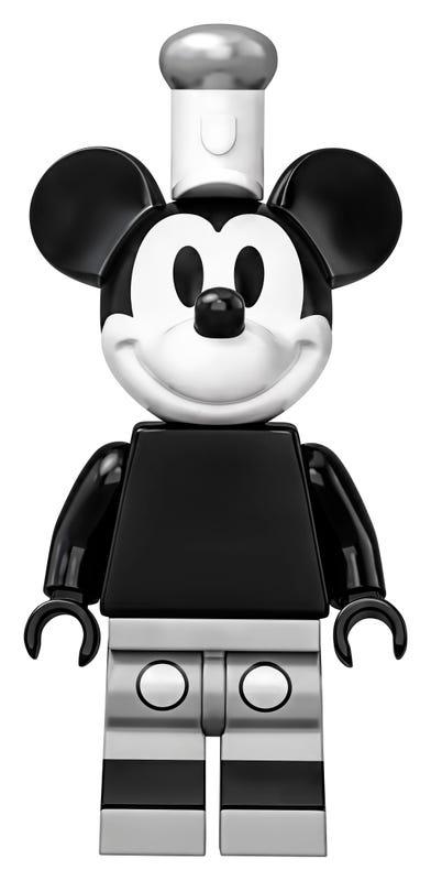21317 El Botero Willie Lego Ideas Mickey Mouse