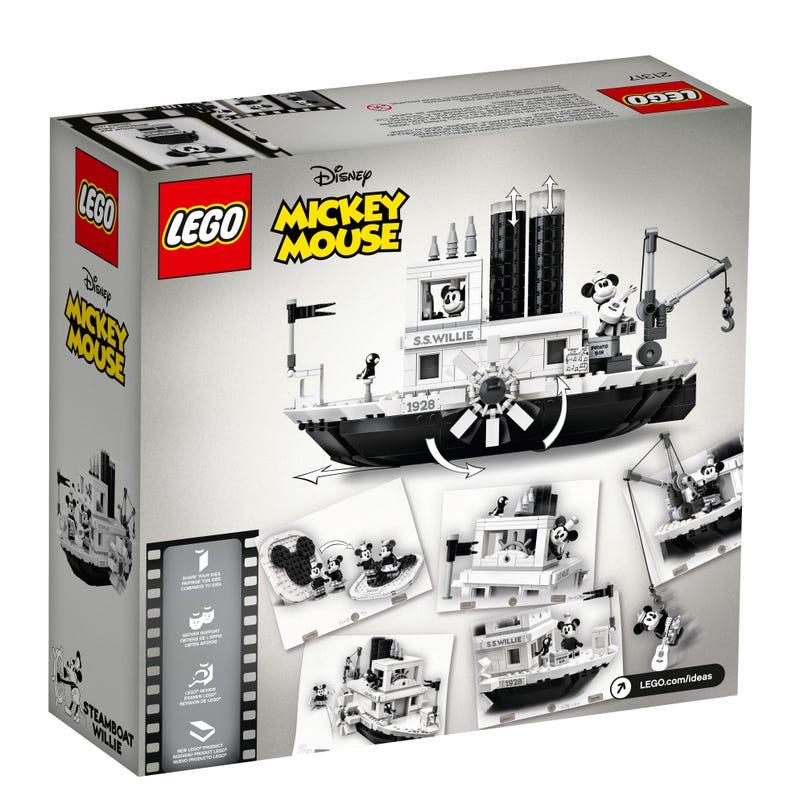 21317 El Botero Willie Lego Ideas caja