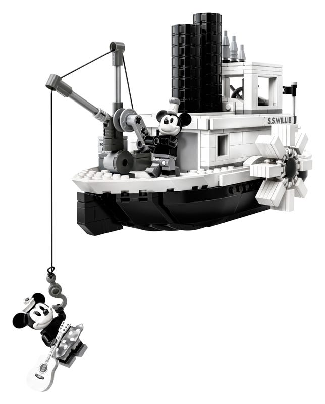 21317 Steamboat Willie Lego Ideas review