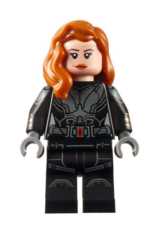 40418 Union de Falcon y Viuda Negra Lego Marvel review