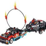 42106 Espectáculo Acrobático: Camión y Moto - Technic