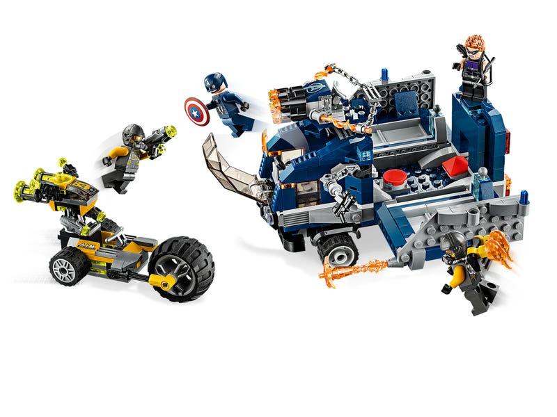 76143 Vengadores Derribo del Camion Lego Marvel comprar
