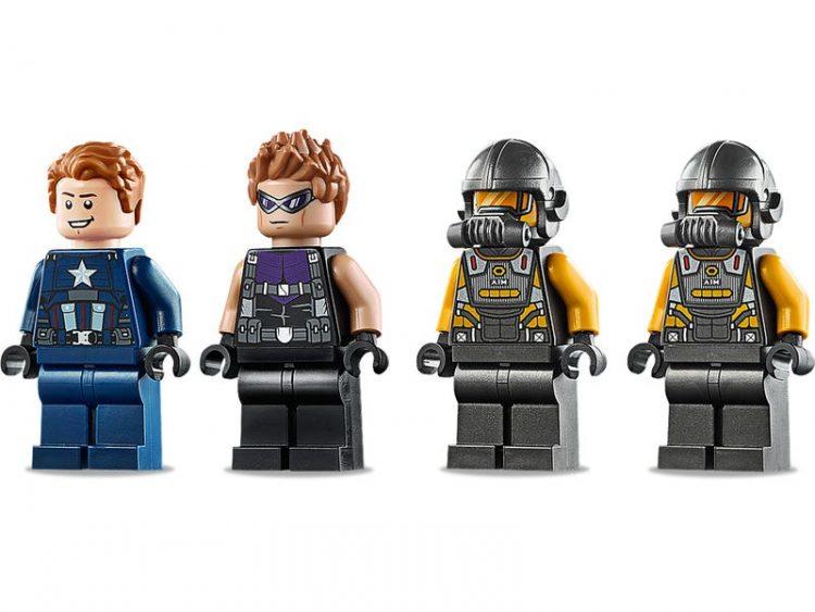 76143 Vengadores Derribo del Camion Lego Marvel minifiguras