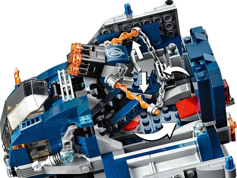 76143 Vengadores Derribo del Camion Lego Marvel review
