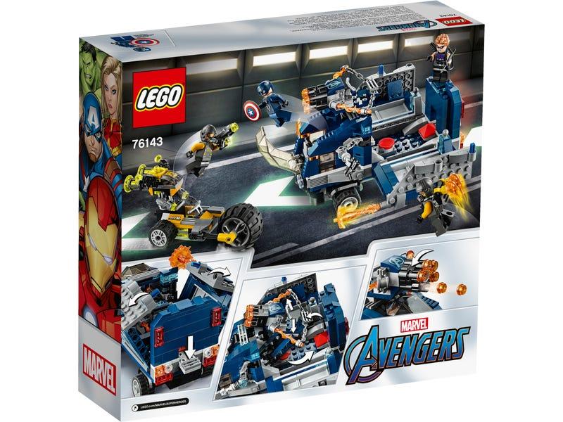 76143 Vengadores Derribo del Camion Lego Marvel unboxing