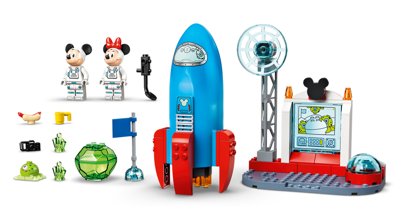 comprar 10774 cohete espacial de mickey y minnie mouse online