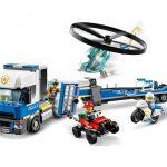 60244 Policía: Camión de Transporte del Helicóptero - City